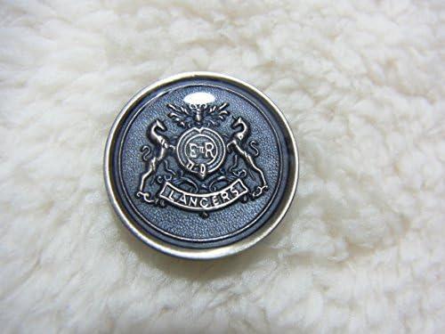 メタルボタンセット ブレザージャケットスーツセット 21mm3個15mm8個セット