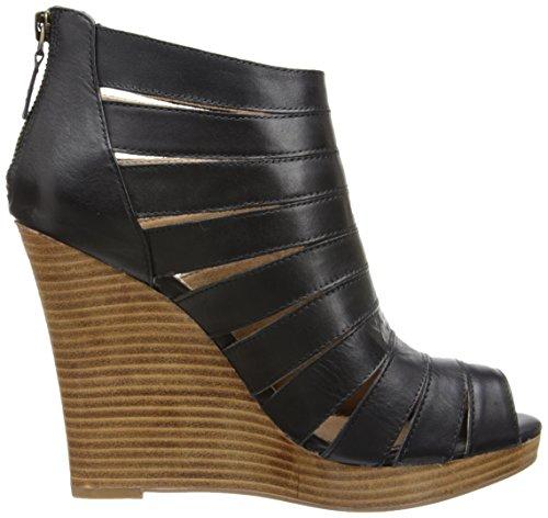 Splendid Frauen Sandalen mit Keilabsatz Black