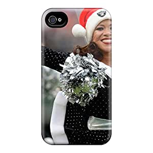 New Style VariousItem Oakland Raiders Cheerleaders Outfit Premium Tpu Cover Case For Iphone 4/4s