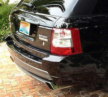 EuroActive Land Rover Range Rover Sport 2006 - 2009 OEM Marca HST Parachoques Trasero Cubierta Completa: Amazon.es: Coche y moto