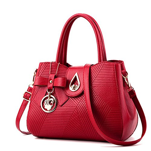 G-AVERIL - Bolso mochila para mujer rosa rosa Red