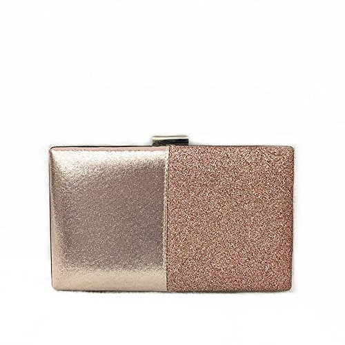 Ladies Dress End WUHX Shoulder Party Small Luxury Flash Evening Square A PU Chain Bag Evening Leather Designer Bag Clutch Bag Bag High WanwYCaqU