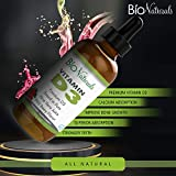 Bio Naturals Vitamin D3 1000 IU Liquid Drops with Aloe Vera Juice for Adults, Kids & Infants - Premium D3 Supplement with Highest Absorption - Immune System, Bone, Muscle & Dental Support - 2 fl oz