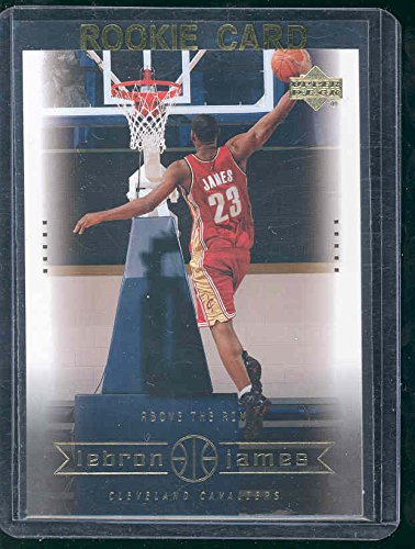 2003 Upper Deck #22 Above the Rim Lebron James Rookie Card - Mint Condition Ships in a Brand New Holder