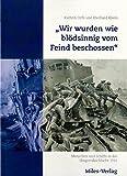 """""""Wir wurden wie blödsinnig vom Feind beschossen"""": Menschen und Schiffe in der Skagerrakschlacht 1916"""