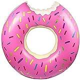 Donut Pool Gigantic Inflatable Float Swimming Jumbo Ring Summer Tube Water Toys