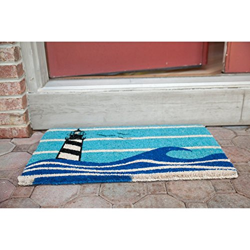 Entryways-Lighthouse-Hand-Woven-Coconut-Fiber-Doormat