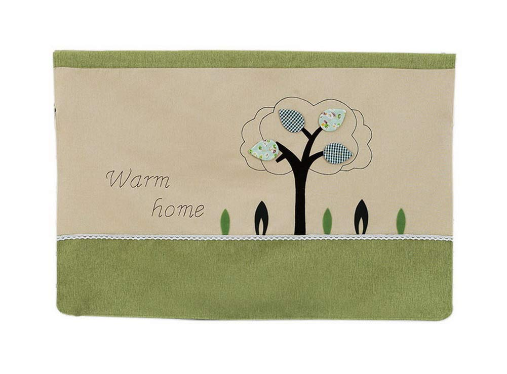 Gentle Meow Home Creative 50-Inch TV Cloth Decorative Dustproof Cover, Small Tree