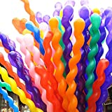 100pcs Assorted Color Plain Latex Balloons Party Wedding Birthday Decorations