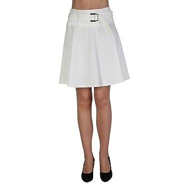 Extyn - Falda - rock - para mujer beige beige: Amazon.es: Ropa y ...