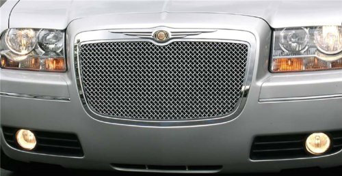 T-Rex 70471 HYBRID Series Mesh Polished Aluminum Grille - Mesh Grille Series Hybrid