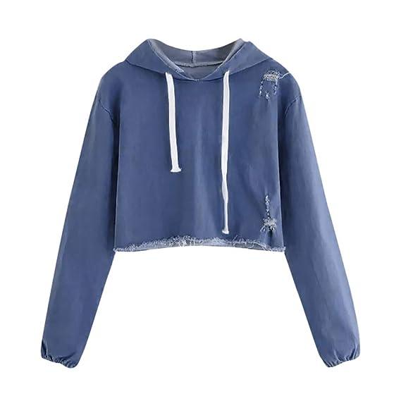 ALIKEEY-Top Shirt Blusas para Mujer Mujeres Casual Tallas Grandes Camiseta Camisa Manga Corta Pañuelo