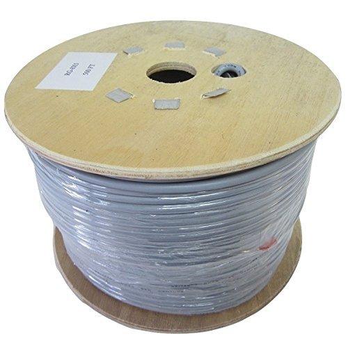 Pro Trucker 500′ CB Radio Antenna RG-8X Mini-8 95% Shielded Coax Cable (Bulk) – Grey For Sale