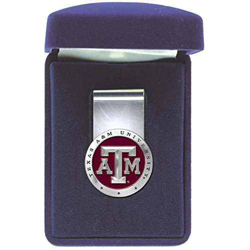 Heritage Pewter Texas A&M Aggies Money Clip