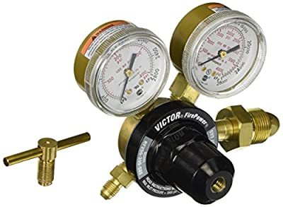 Firepower 0781-9851 250 Series Medium Duty Inert Gas Regulator for 10 to 200 PSIG Max Inlet Pressure