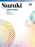 Suzuki Violin School, Vol 1: Violin Part, Book and CD