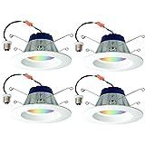 Sylvania Lightify 65W LED Smart Home 2700-6500K Color/White Light Bulb (4 Pack)