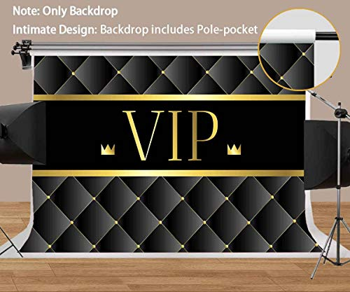 MEETSIOY Luxury VIP Backdrops for Photography Royal Crown Black Premium Photo Backdrops Props High-end Premier Luxury Party Background Photo Studio Backgrounds Props 7x5 MT688]()