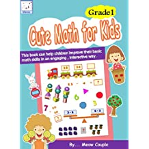 Cute math for kids : Grade 1 (INTERACTIVE Color Quiz E-book)