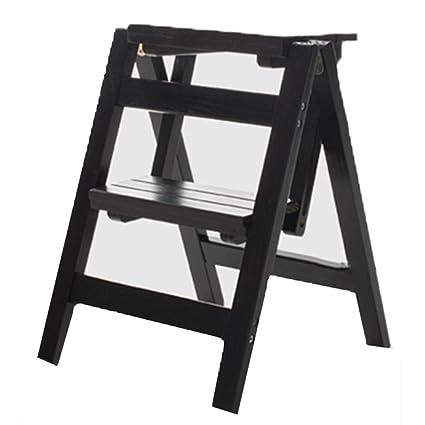 Fine Amazon Com Staircase Stool Th 2 Tier Step Wood Ladder Evergreenethics Interior Chair Design Evergreenethicsorg