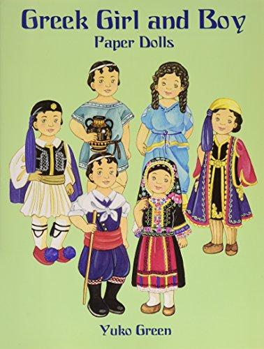 Greek Girl and Boy Paper Dolls (Dover Paper Dolls) Boy Paper Dolls
