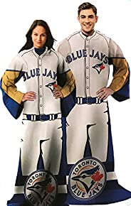 MLB Toronto Blue Jays Comfy Throw - The Blanket With Sleeves!
