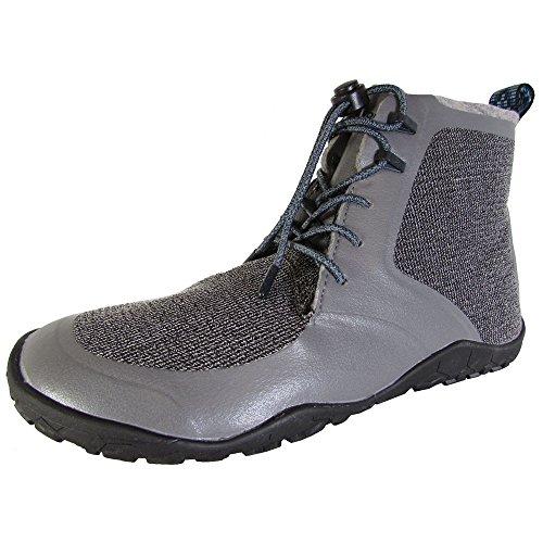 Vivobarefoot Men's Saami Lite M Synth Walking Shoe, Grey, 43 EU/10-10.5 M US