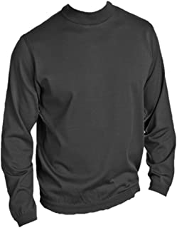 product image for St. Croix Mens Long Sleeve Cotton & Microfiber Classic Mock Turtleneck