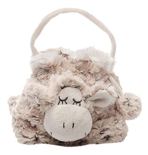 Inware 6361 - Beutel Schaf Sleepy, beige/meliert, Tasche, Handtasche