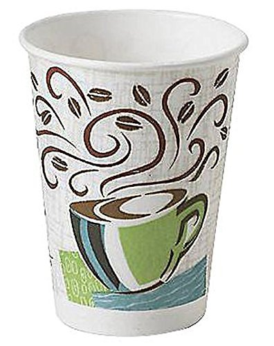 Cups Hot (Dixie Perfectouch Disposable Hot Cups, 12 OZ Cups (100 Count))