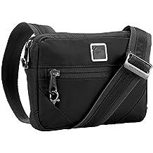 Lewis N. Clark Secura Anti-theft Commuter Shoulder Bag, Onyx