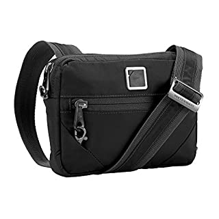 Lewis N. Clark Commuter + Messenger Bag for Women with RFID Blocking Anti-theft Technology & Adjustable Shoulder Strap, Onyx (B06XDPK85P) | Amazon Products