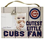 "KH Sports Fan 10""x 8"" Chicago Cubs Clip It Weathered Baby Logo Photo Frame, 10"" x 8"""