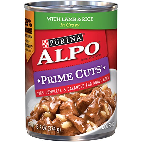Purina ALPO Prime Cuts With Lamb & Rice in Gravy Dog Food - (12) 13.2 oz. Can