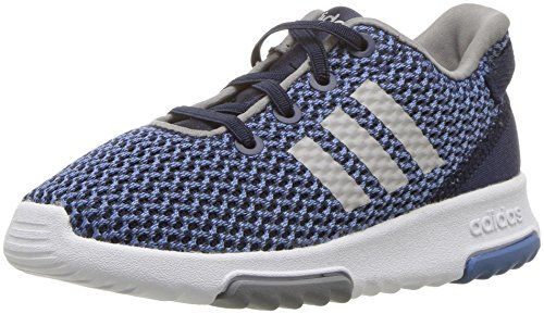 adidas Kids CF Racer TR Running Shoe, Collegiate Navy/Collegiate Navy/Grey, 7K M US Toddler by adidas (Image #1)