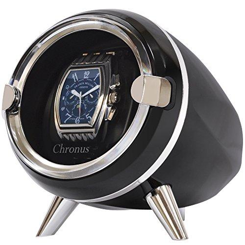 VERSOS 베르소스 【3색에서 선택할 수 있다】 시계 와인딩 머신 1개 감음 정음 설계 VS-WW021 (블랙)