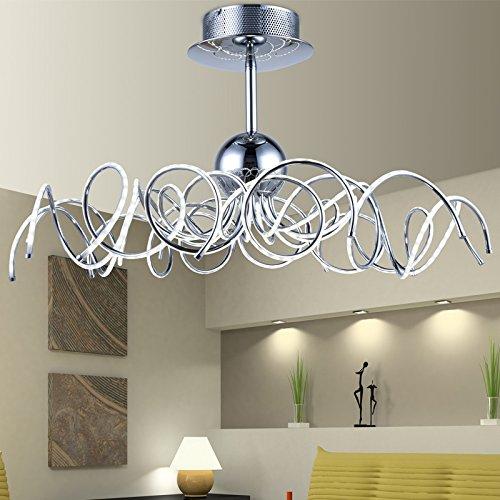 YMXJB Kreative Eisen LED Decke Licht Anhänger Kronleuchter Dekor perfekt für Hotels Treppe Konferenz Halle Schlafzimmer Esszimmer dekorative Leuchten