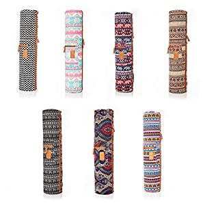 #DoYourYoga Full-Zip Exercise Yoga Mat Carry Bag with Multi-Functional Storage Pockets »Sunita«