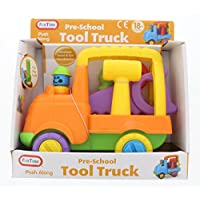 Fun Time 5053 Pre-School Fun Play Push Along Tool Truck