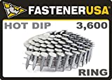 """7/8"""" Ring A153-D HOT DIP Coil Roofing Nails 3.6M"""
