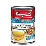 Campbell's Reduced Sodium Chicken Broth, 284ml, 12-Count