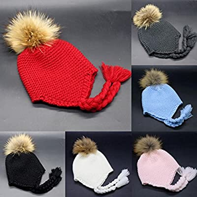 SunWard(TM) Toddler Baby Earmuffs Knitted Warm Winter Infant Boy Girl Cap