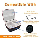 Asafez Hard Carrying Case Compatible with Walker's