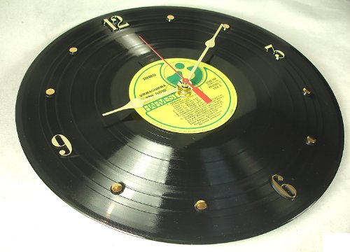 "IT'S OUR EARTH PINK FLOYD Recycled Vinyl Record Clock – ""Ummagumma"" (1969) For Sale"