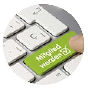 alfombrilla de ratón Únete teclado. dedo - ronda - 20cm