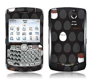 MusicSkins, MS-DOMO30006, Domo - Eggs, BlackBerry Curve (8300/8310/8320), Skin