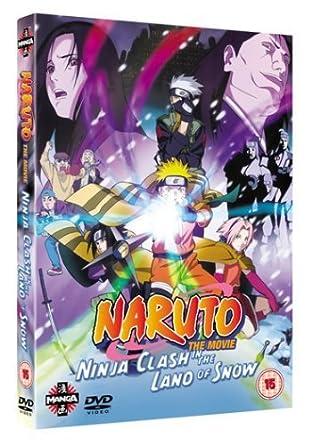Naruto The Movie: Ninja Clash in the Land of Snow 2007 DVD ...
