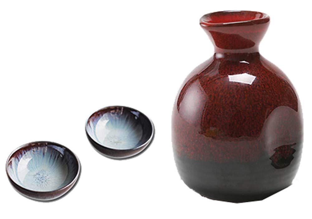 jarras y vasos para sake