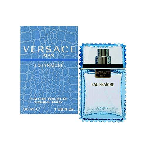 VERSACE MAN EAU FRAICHE by Gianni Versace EDT SPRAY 1 Fl. Oz (Edt Ounce Love 1)