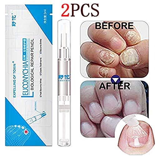 Euconychia Herbal Nail Treatment Pen Nail Repair Fingernails Toenails Rich Nutrition(2pcs)